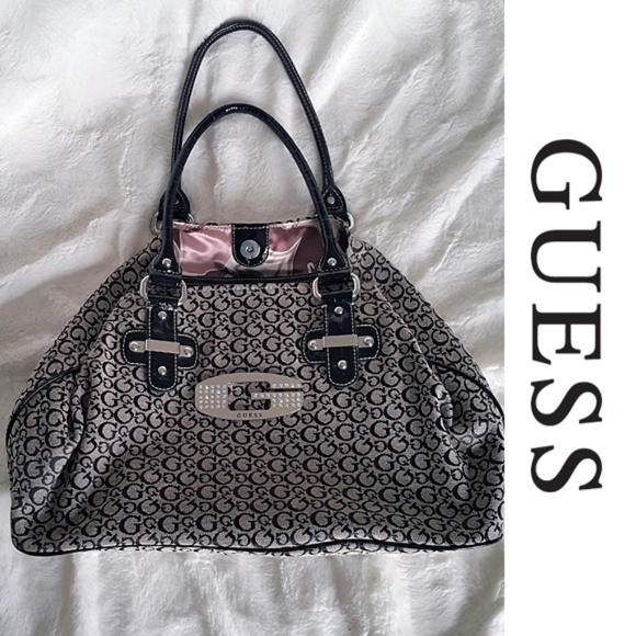 Guess Handbags - G by Guess Slouchy Monogram Patter Tote Bag aef10896b911a
